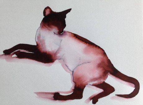 Inky Cat 11