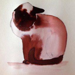 Inky Cat 2