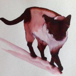 Inky Cat 7